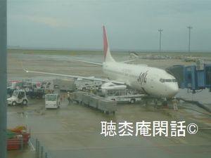 JL3085便 成田-名古屋