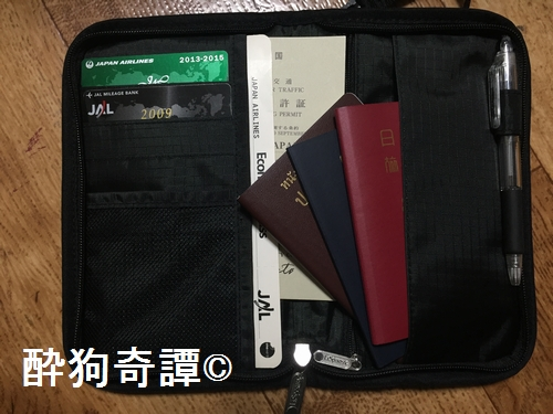 Passport case