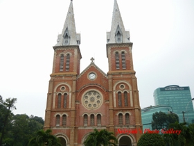 Vietnam, Ho Chi Ming, Church
