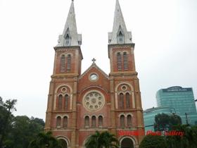 Vietnam, Ho Chi Ming, Church