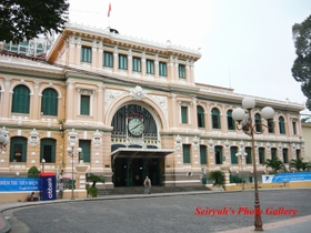 Vietnam, Ho Chi Ming, Post office