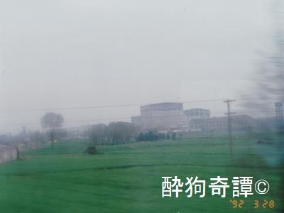 南京-無錫の車窓