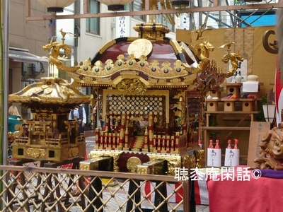 日枝神社例大祭(横浜・伊勢崎町)