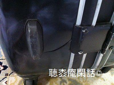 スーツケースの破損