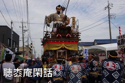 佐原の大祭(夏祭り)