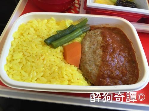 2006 thai JL031 機内食