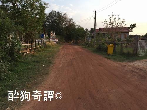 イサーン 農道
