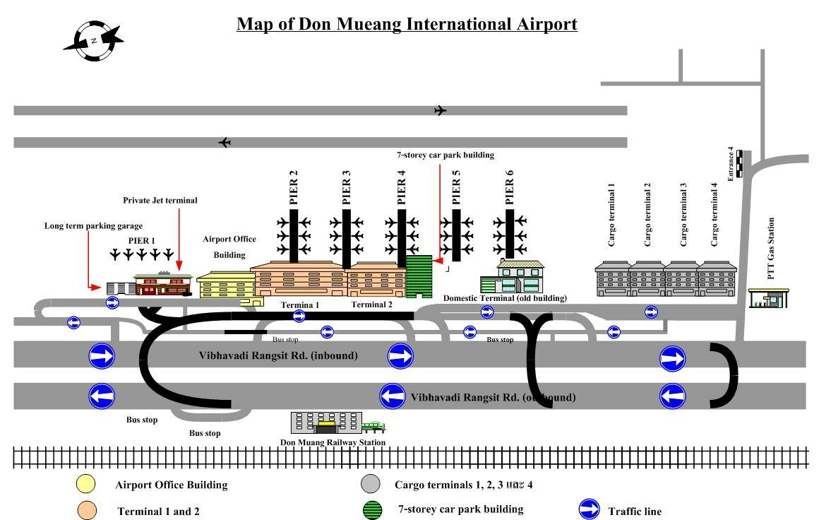 map_of_donmueang_airport