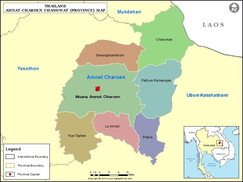Map_Amnatcharoen